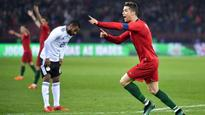Cristiano Ronaldo's double strike wins international friendly for Portugal against Egypt
