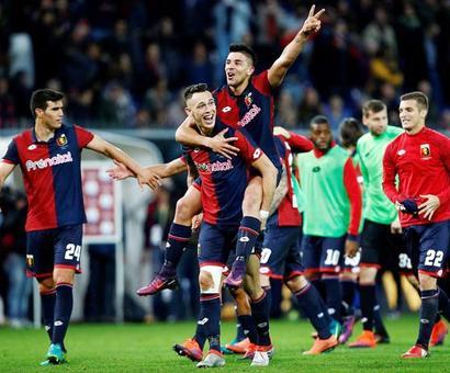 Serie A leaders Juventus blown away by Genoa in half an hour