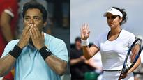 Leander Paes-Sania Mirza fight turns ugly