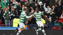 Moussa Dembele leaves it late to send Celtic into the Scottish League Cup final