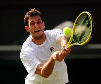 James Ward loses to Matteo Donati in first-round qualifying at French Open