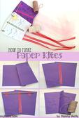 Let's go fly a kite: How to make a paper kite