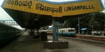 Fortress Check at Lingampalli Railway Station