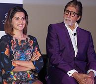 Amitabh Bacchan and the Starcast Promotes the Film 'PINK' in Delhi!