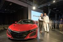 First Serial Production 2017 Acura NSX Rolls off the Line at Performance Manufacturing Center in Ohio