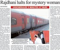 Lens on Rajdhani halt drama
