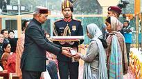 Republic Day 2018: Prez gets emotional while awarding Ashok Chakra