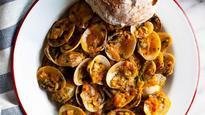Chilli fry: Goan style clams