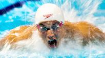Canada's Santo Condorelli beats Olympic swim champ
