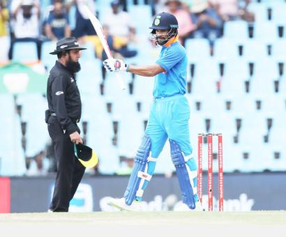 PHOTOS: Chahal claims five as India humiliate SA in 2nd ODI
