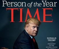 Did Time magazine deliberately make Trump look like the devil - and Hitler?