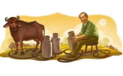 Google doodles the 'Milkman of India'