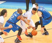 NBA: Thunder roll over Mavericks in play-off