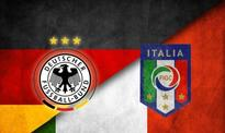 Previous records: Germany to play Italy at major finals today