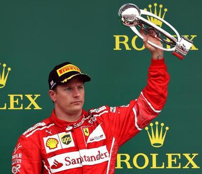F1: Raikkonen staying at Ferrari in 2018