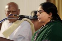 Jaya sworn in as Tamil Nadu  Chief Minister for sixth time