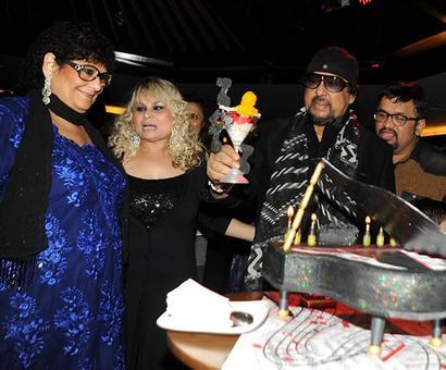PIX: Shankar, Sivamani party with Louiz Banks
