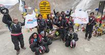 TVS Himalayan Highs lady riders make it to India Book of Records
