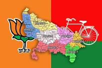 West to East, BJP Does Best in Uttar Pradesh. East to West Suits SP