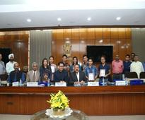 Rio Olympians from North East felicitated