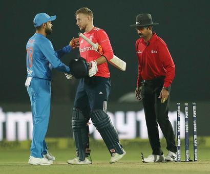 Morgan, Root take England past India in Kanpur T20