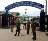 Students stage protest march at NIT Srinagar, demand shifting of institute from Kashmir