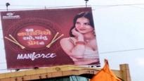 Sunny Leone's condom ad for Dandiya nights hurts religious sentiments in Gujarat