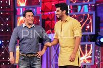 Salman Khan ignores Arjun Kapoor at Sania's sister's sangeet ceremony!