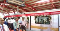 Lucknow Metro thrown open to public, Adityanath, Rajnath Singh inaugurate phase-I