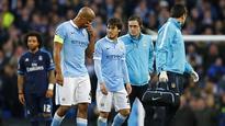 Pellegrini confirms Silva out of Champions League semi against Real