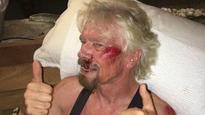 Richard Branson thought he 'was going to die' after bike crash
