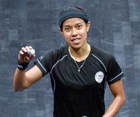 Sarah-Jane halts Nicol at Al-Ahram Squash Open