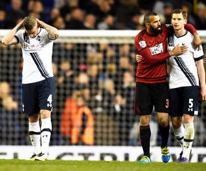 EPL: Spurs drop points and likely title in West Brom draw