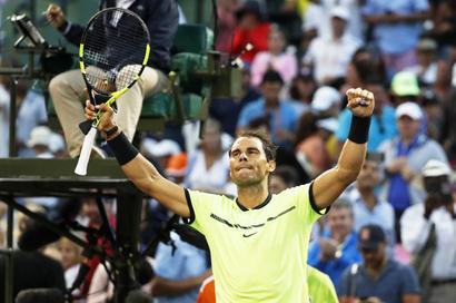 Miami Open: Nadal, Venus advance; Dimitrov, Vesnina ousted