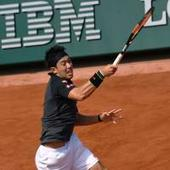 Nishikori cruises past Kuznetsov to make third round