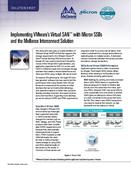 Implementing VMware's Virtual SAN with Micron SSDs and the Mellanox Interconnect Solution