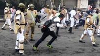 BJP workers, police clash in Kolkata, Dilip Ghosh taken into custody