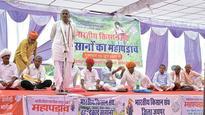 Farmers begin mahapadav at 7 divisional HQs