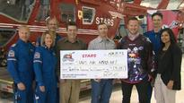 Roughnecks Star Wars jersey auction nets nearly $25,000 for STARS Air Ambulance