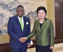 Chinese vice premier meets UNFPA executive director
