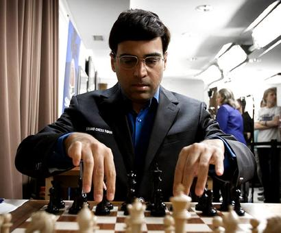 Vishy Anand wins Tal Memorial Rapid Chess