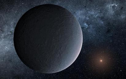 'Iceball' planet about the same mass as Earth found