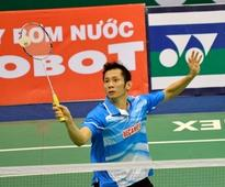 Nguyen Tien Minh advances, other Vietnamese out in China
