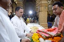 A question of faith as Rahul Gandhi visits Gujarat's Somnath temple