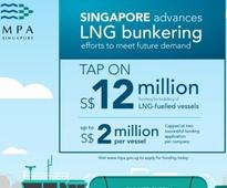 Singapore awards LNG bunkering licenses