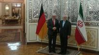Zarif, Steinmeier confer in Tehran