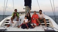 Abhishek Bachchan celebrates his 40th birthday in 'Dil Dhadkne Do' style