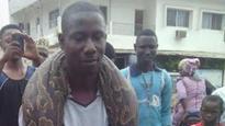 Anaconda: Man poses with giant snake he killed