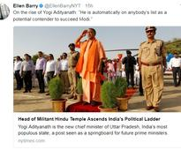 'Militant sect, Hindu warrior': NY Times Adityanath article sparks fury on Twitter