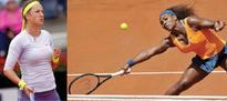 Azarenka, Serena in final